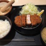 【松のや】厚切りロースかつ定食を食す★★★