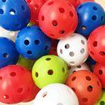 子供のおもちゃに「穴あきゴルフ練習用ボール」は最適かも?