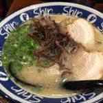 Shin-Shin博多デイトス店で豚骨ラーメンを食す★★